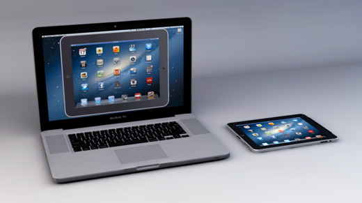 iPad Ekranını Bilgisayar ya da Projektöre Yansıtmak